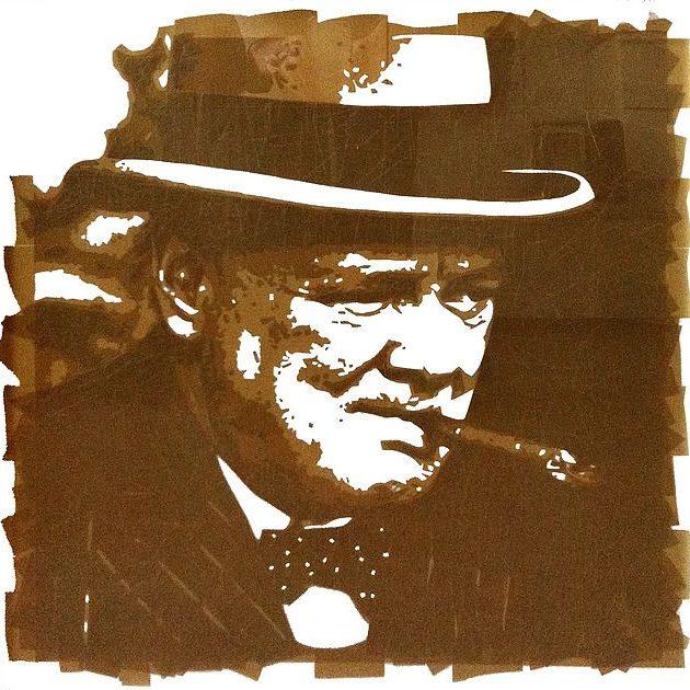 Портрет Уинстона Черчилля
